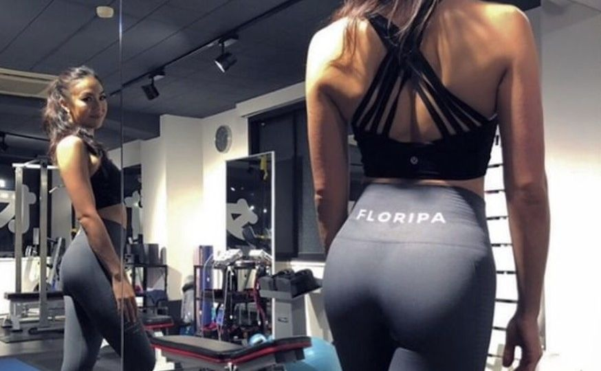 Grey High Waisted Gym Leggings