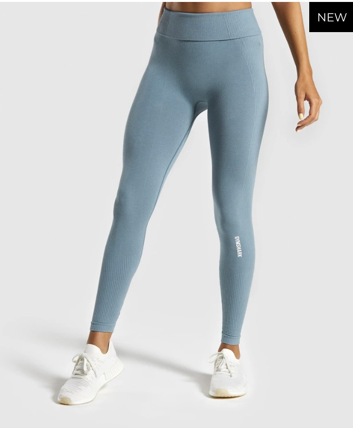 Gymshark-High-waisted-gym-leggings-Power-down-leggings-turquiose