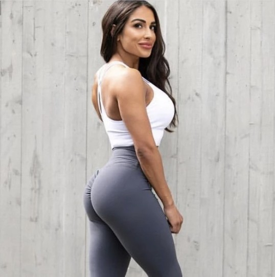 Peachee-Collection-high-waisted-gym-leggings-Anthrazite