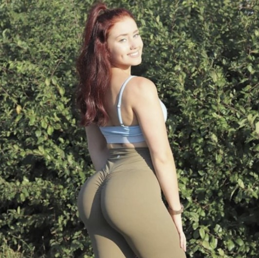Peachee-Collection-high-waisted-gym-leggings-Khaki