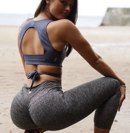 Peachee-Collection-high-waisted-gym-leggings-Steel-Leggings
