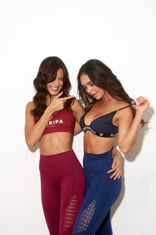 High waisted gym leggings - Gaby and Suh