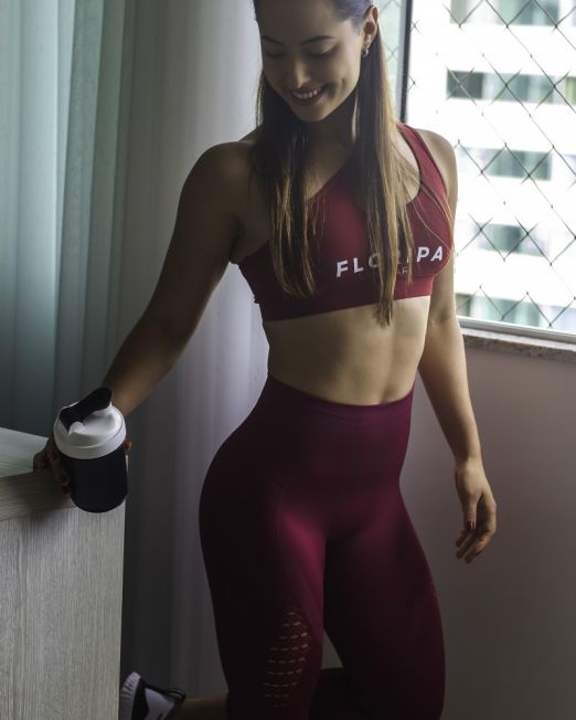 High waisted gym leggings - @bianca.ewald