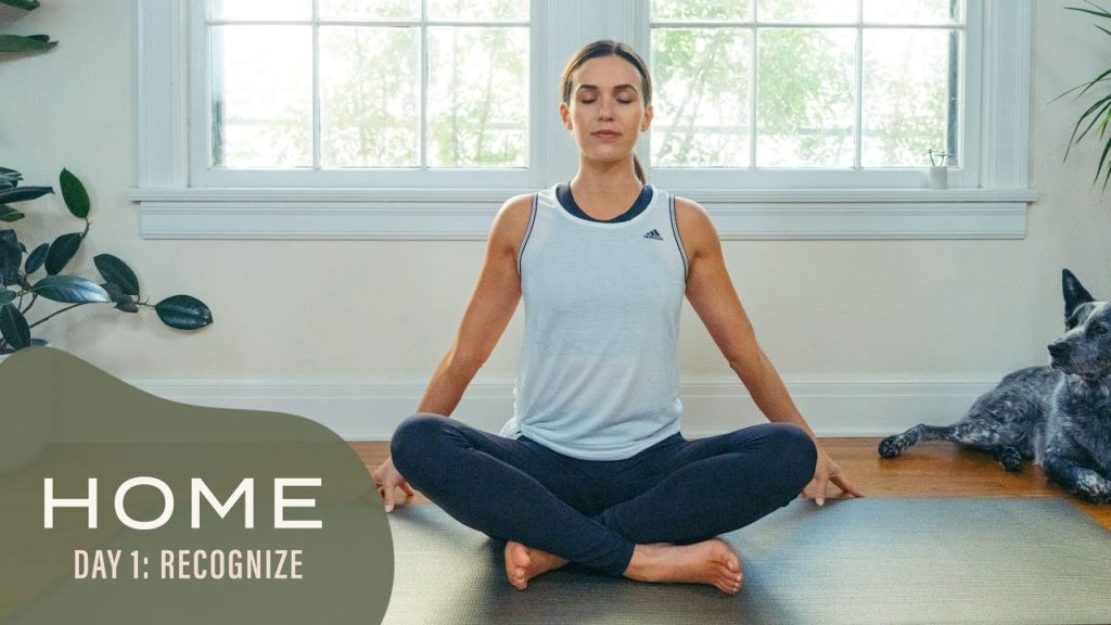 Online Yoga Classes UK BEST YOGA CLASSES near me Yoga with Adriene banner
